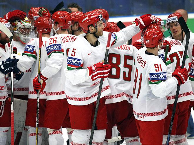 Хоккеисты сборной Беларуси – о США и России