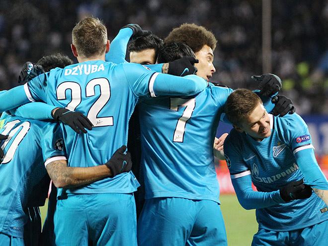 «Зенит» — «Валенсия». Обзор матча — 2:0