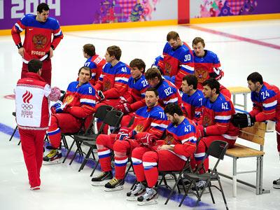 Сочи-2014. Хоккей. Овечкин, Дацюк, Малкин, Сёмин