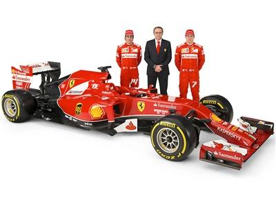 """Формула-1. """"Феррари"""" показывала болид сезона-2014"""