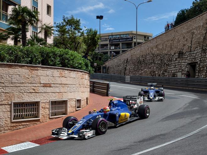 Самые горячие моменты Гран-при Монако Формулы-1