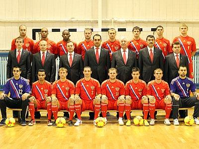 Сборная России на чемпионате мира по мини-футболу
