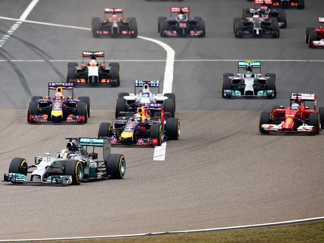Формула-1. Гран-при Китая. Онлайн воскресенья