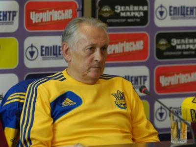 Михаили Фоменко о матче Украина - Польша
