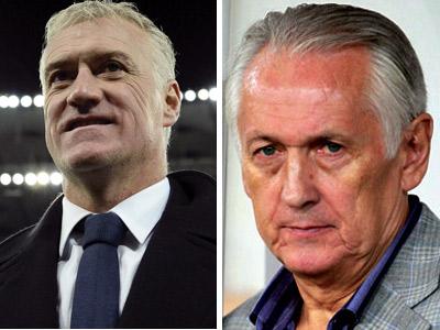 Дешам и Фоменко о матче Украина - Франция