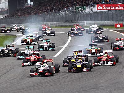 Гран-при Германии Ф-1: трасса, погода, расписание