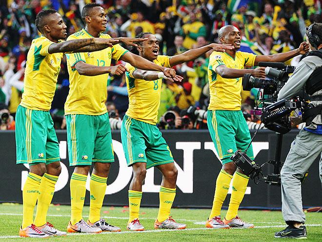 Сборная ЮАР на ЧМ-2010