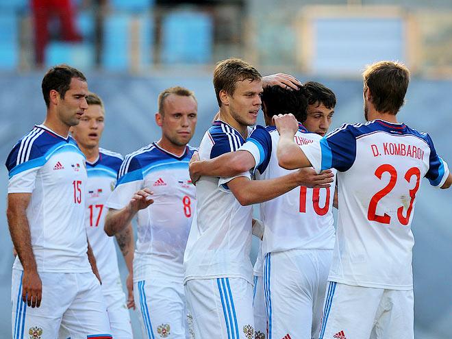 Россия принимает Австрию в отборочном турнире к Евро-2016