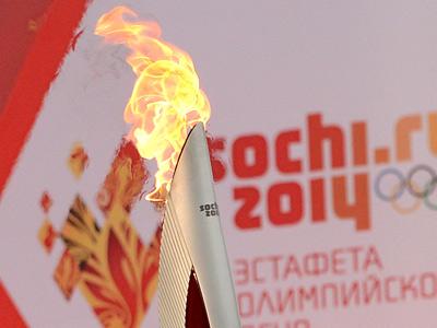 Движение Эстафеты олимпийского огня Сочи-2014