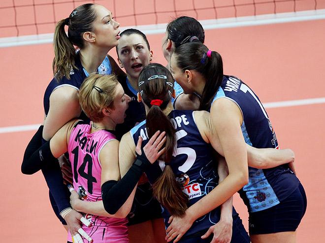 Финал женской Суперлиги стартовал с победы Казани