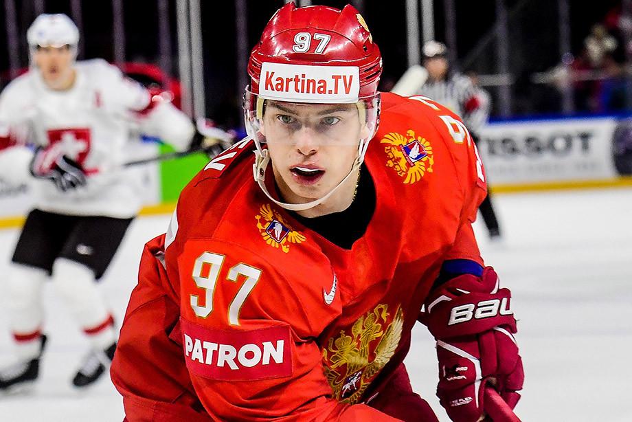 Никита Гусев, сборная России — Хоккей