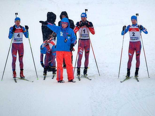 Рикко Гросс и сборная России по биатлону