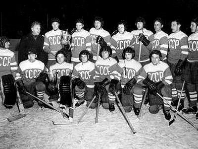 В Зале славы сборная СССР в полном составе