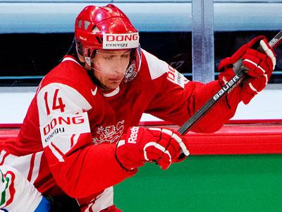 Нападающий Кирилл Старков – о хоккее в Дании
