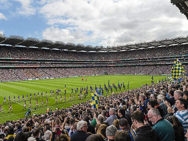 Irish national sports: Gaelic football and hurling
