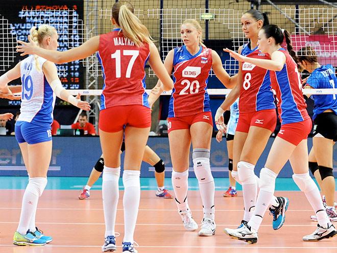 Россиянки обыграли сборную Таиланда на Гран-при