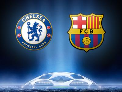 Сегодня «Челси» примет «Барселону» в рамках полуфинала Лиги чемпионов