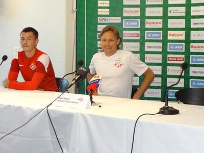 Динияр Билялетдинов и Валерий Карпин