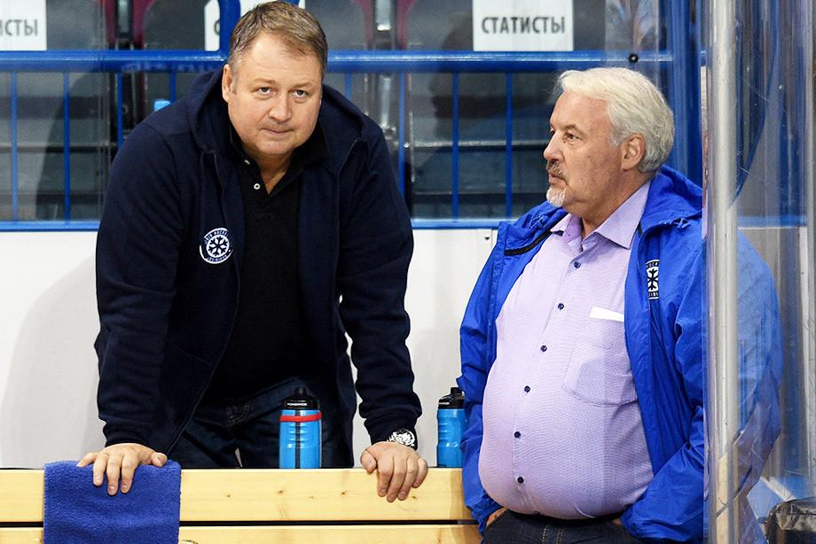 Владимир Юрзинов и Кирилл Фастовский, «Сибирь»