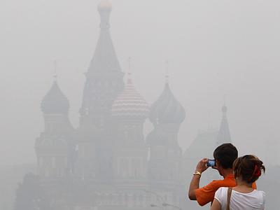 Смог лишил Москву большого футбола