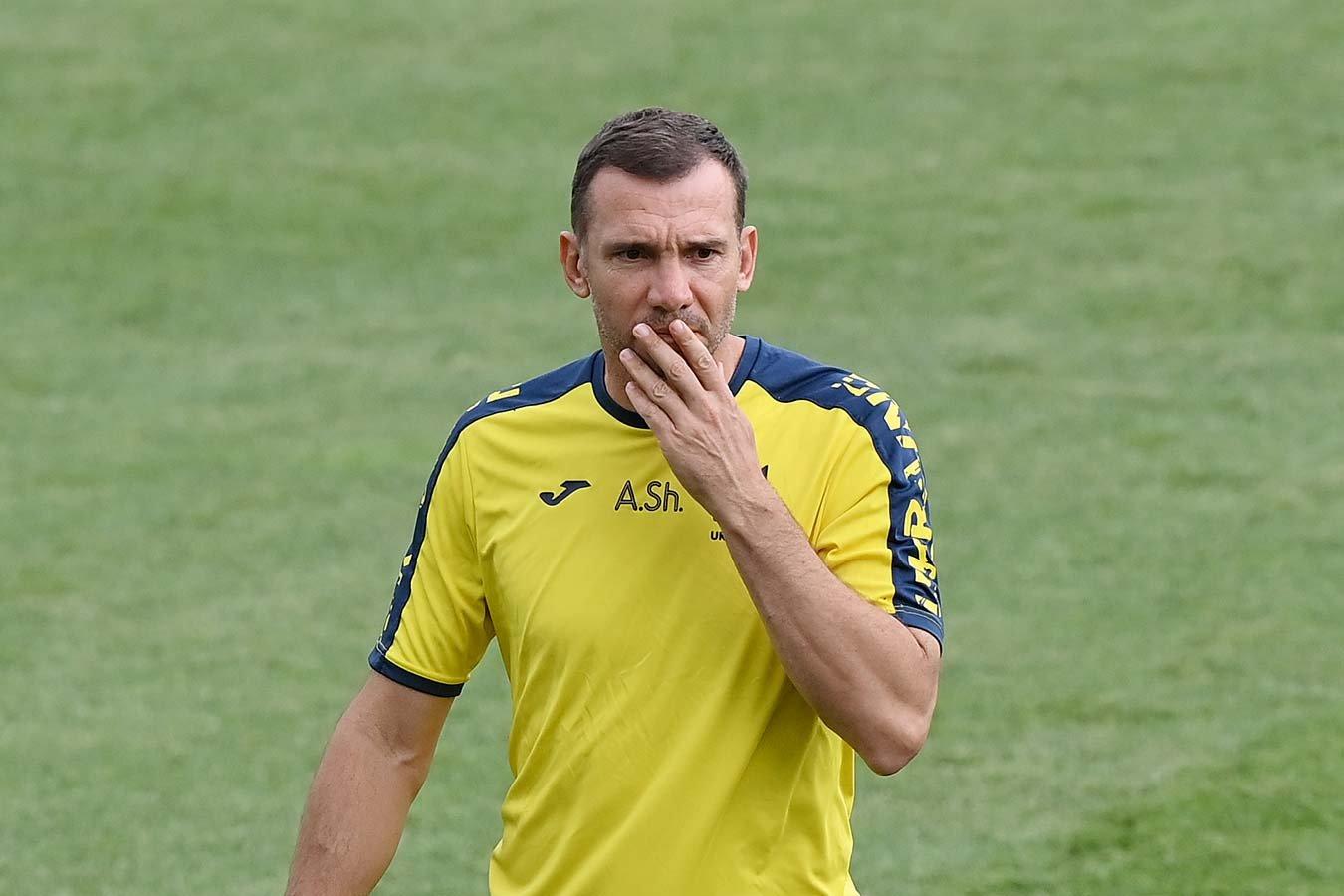 Андрей Шевченко прокомментировал информацию о конфликте между игроками сборной Украины