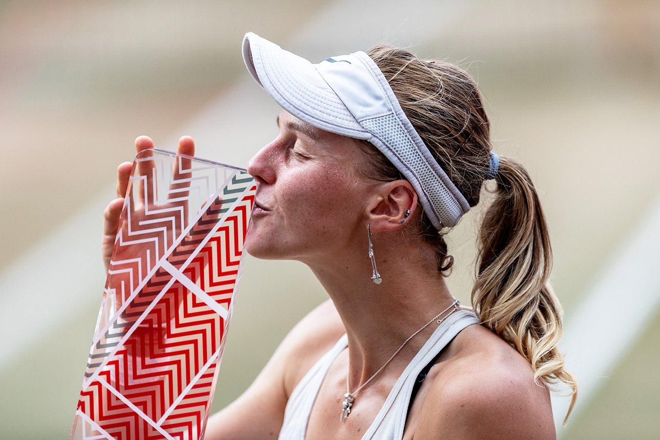 Людмила Самсонова выиграла в Берлине 1-й титул