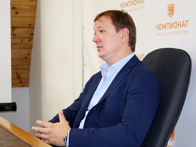 Главный тренер «Торпедо» Скудра – гость «Чемпионата»