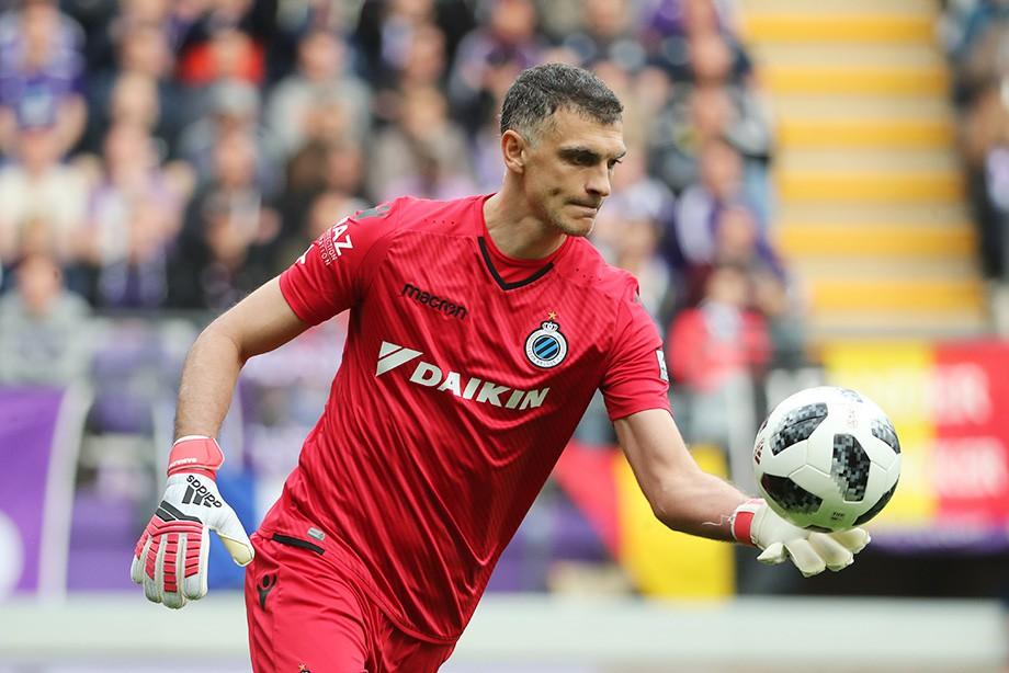 Габулов провел 1-ый сухой матч за«Брюгге»