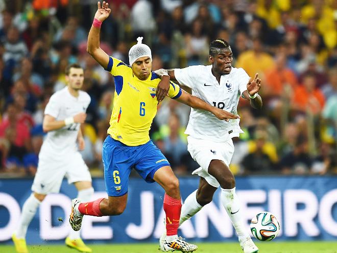 ЧМ-2014. Франция и Эквадор сыграли 0:0