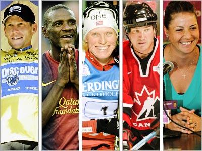 5 самых известных спортсменов, победивших болезнь
