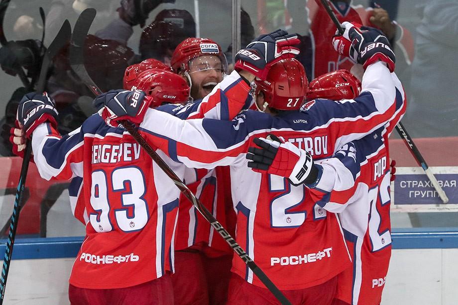ЦСКА победил СКА в шестом матче финала Запада