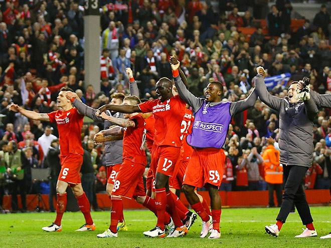 «Ливерпуль» — «Боруссия» — 4:3: красные вырвали путёвку в полуфинал Лиги Европы