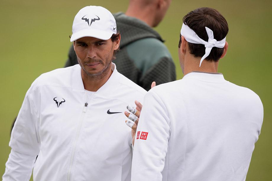 Уимблдон 2019: Рафаэль Надаль и Роджер Федерер сыграют в полуфинале 12 июля