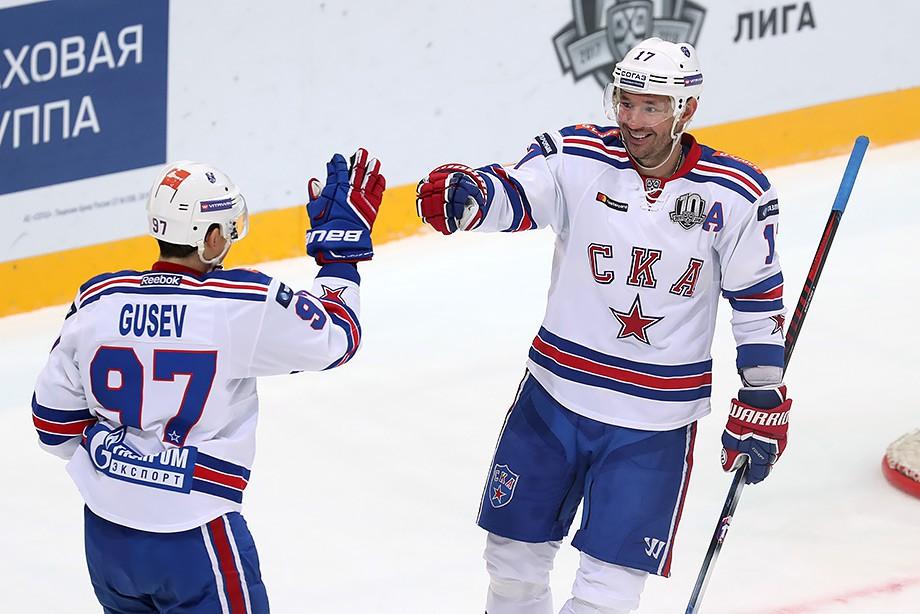 СКА проиграл вовертайме ЦСКА впервом матче заключительной серии Западной конференции