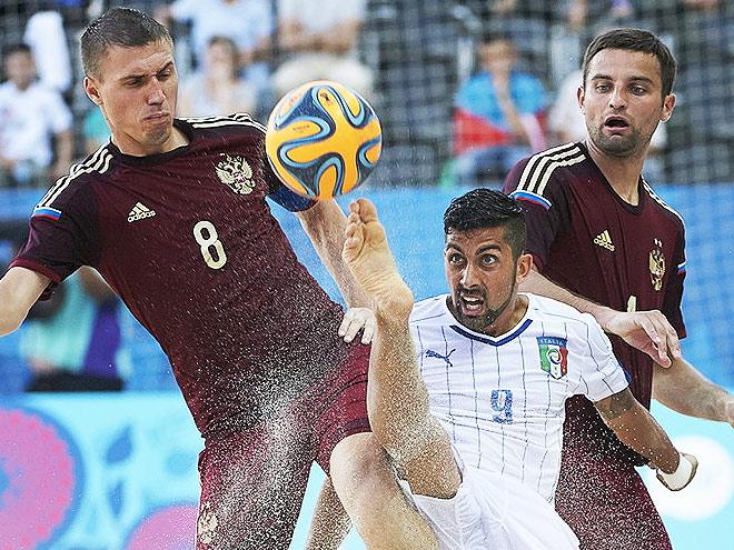 Пляжный футбол. Трансляция матча Россия - Италия