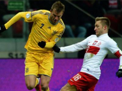 Украина - Польша - 1:0
