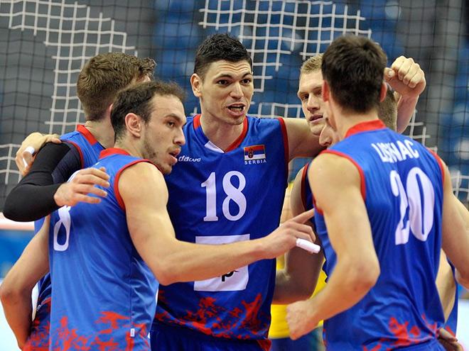 Сборная Сербии - победители Мировой лиги—2016