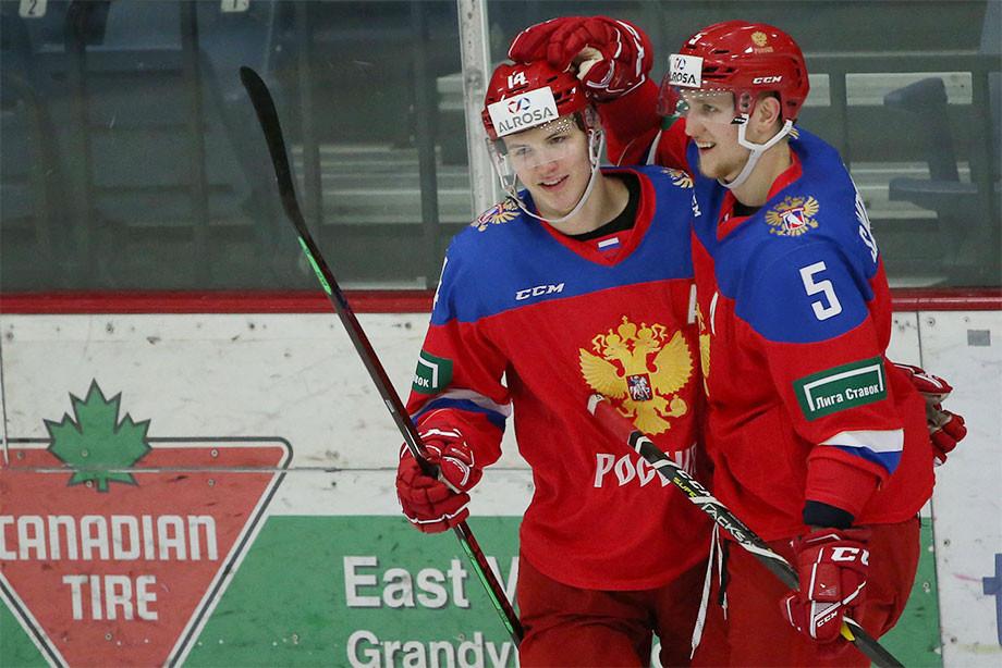 Россия обыграла Данию в первом матче на молодёжном чемпионате мира! Как это было