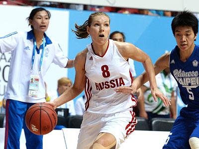 Женская сборная России вышла в финал Универсиады
