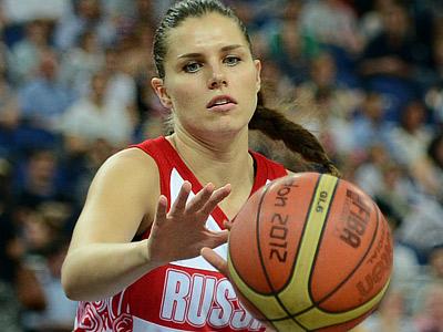 Лондон-2012. Баскетбол. Анна Петракова
