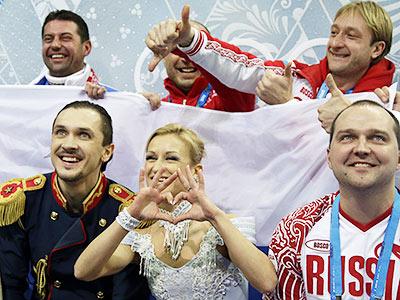 Плющенко и дуэт Волосожар — Траньков