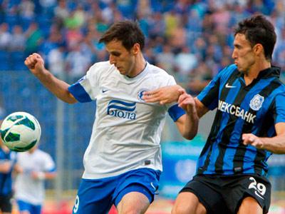 «Днепр» выиграл у «Черноморца» в девятом туре премьер-лиги