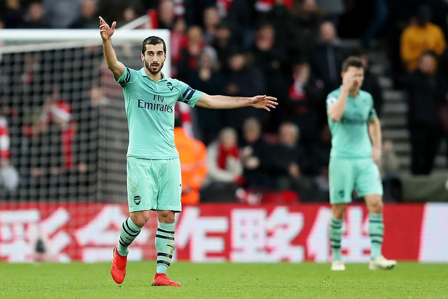 «Арсенал» проиграл впервые за 23 матча. Не спас и дубль Мхитаряна