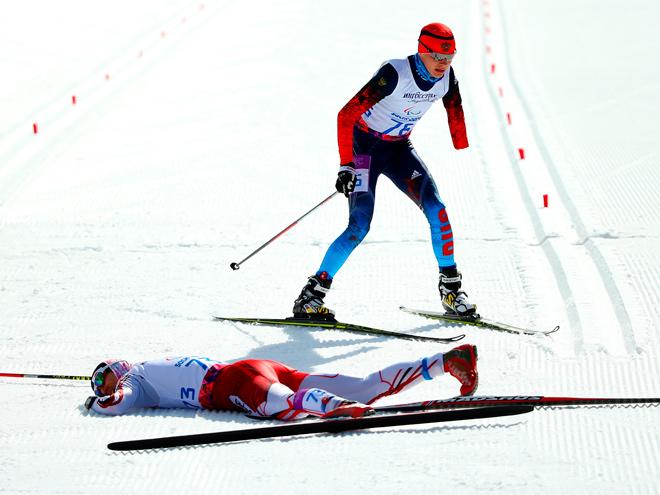 Паралимпиада в Сочи. Лыжные гонки
