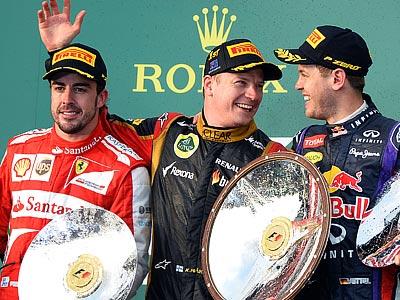 Кими Райкконен выиграл Гран-при Австралии