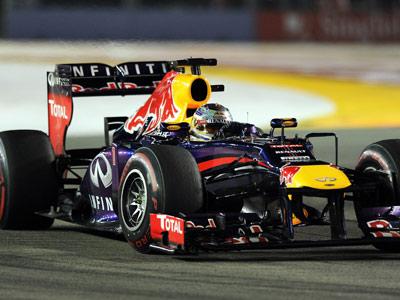 Феттель выиграл Гран-при Сингапура Формулы-1