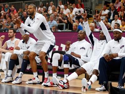 Лондон-2012. Баскетбол. Лидеры американцев пока отдыхают