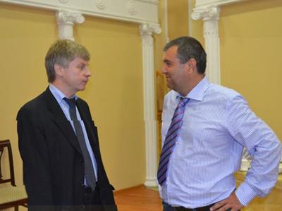 Николай Толстых и Алишер Аминов