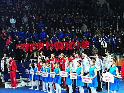 В Красноярске прошло официальное открытие Спартакиады молодёжи
