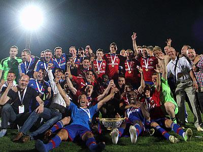 ЦСКА — пятикратный обладатель Суперкубка